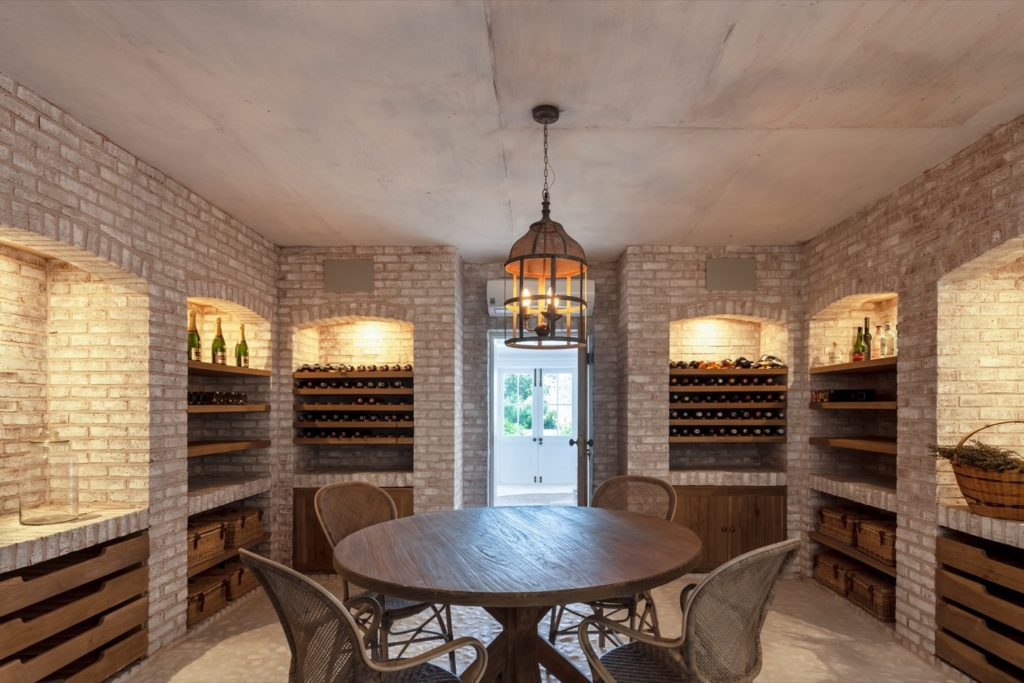 Wine Cellar at the Pearl