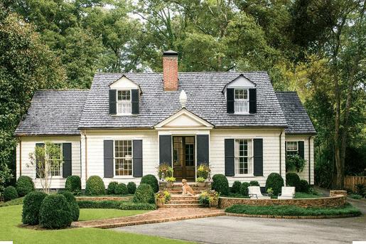 Cape Cod architecture home