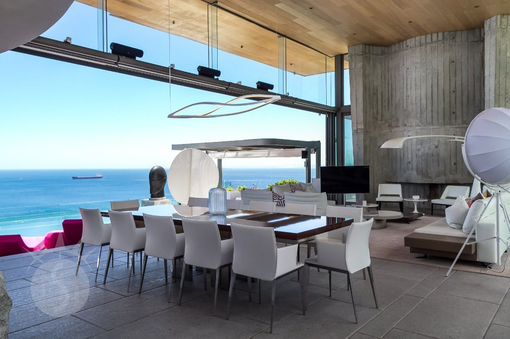 Boma Villa: Shoot My House Modern Beach Location Bantry Bay Cape Town