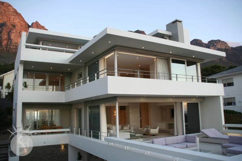 Life Aquatic: Shoot My House Beach Modern Location Bakoven Cape Town