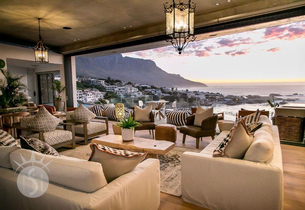 Ocean Villa Living: Shoot My House Beach Modern Location Camps Bay Cape Town