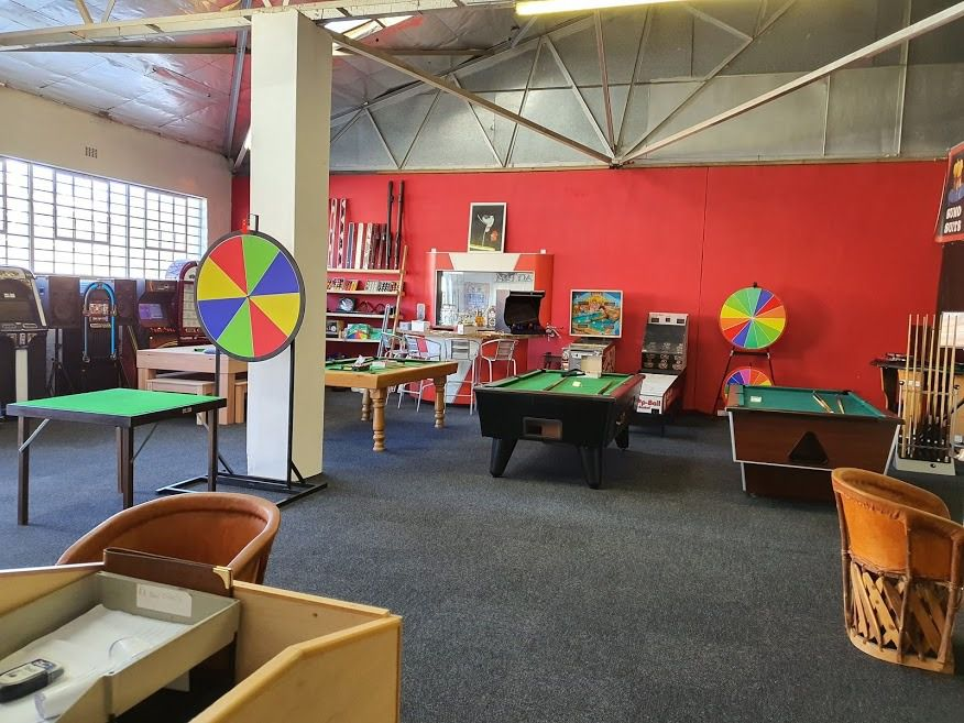 Arcade: Shoot My House Commercial Quirky Location Steenberg Cape Town