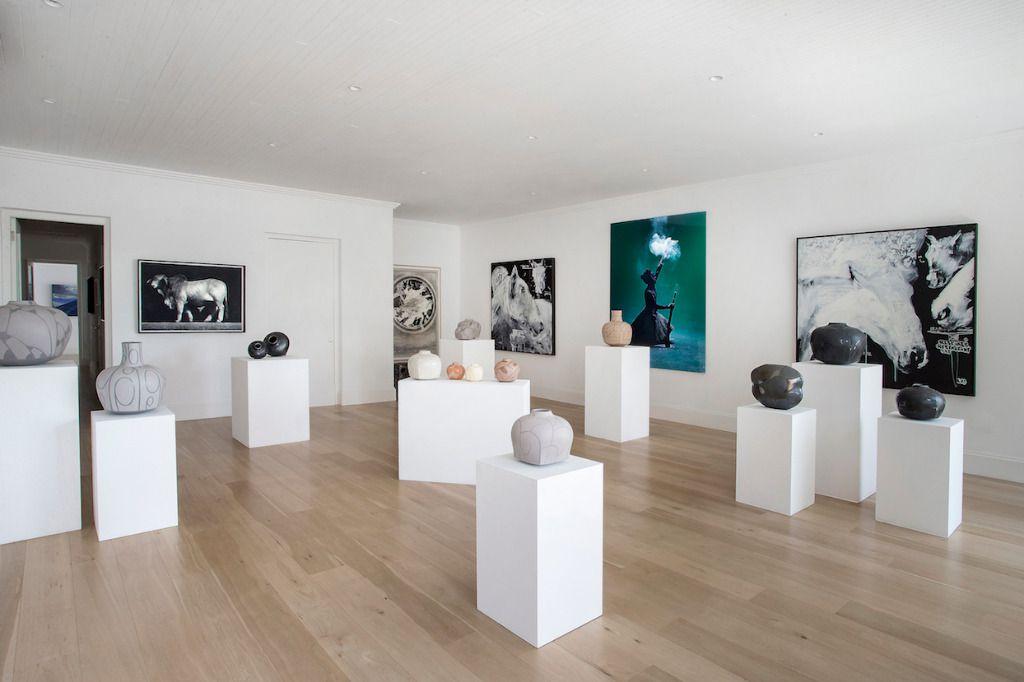 Ebony 3: Shoot My House Commercial Modern Art Gallery Location Franschoek