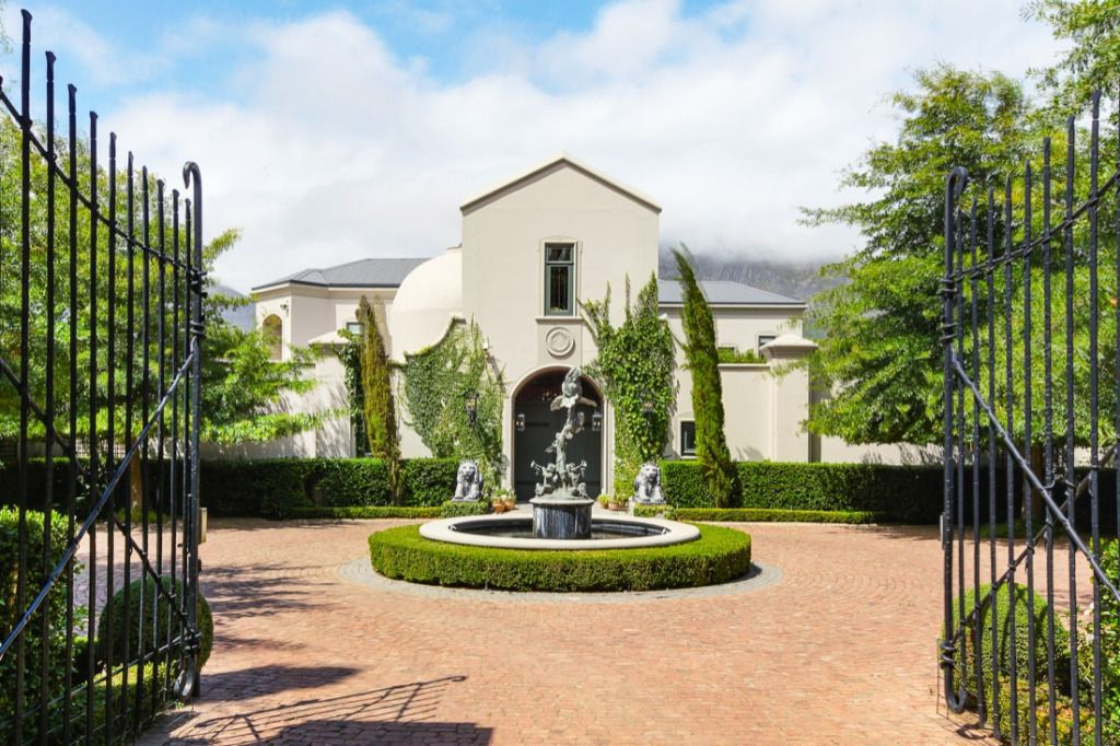 Sandstone: Shoot My House Farms Villas Location Franschhoek Cape Town