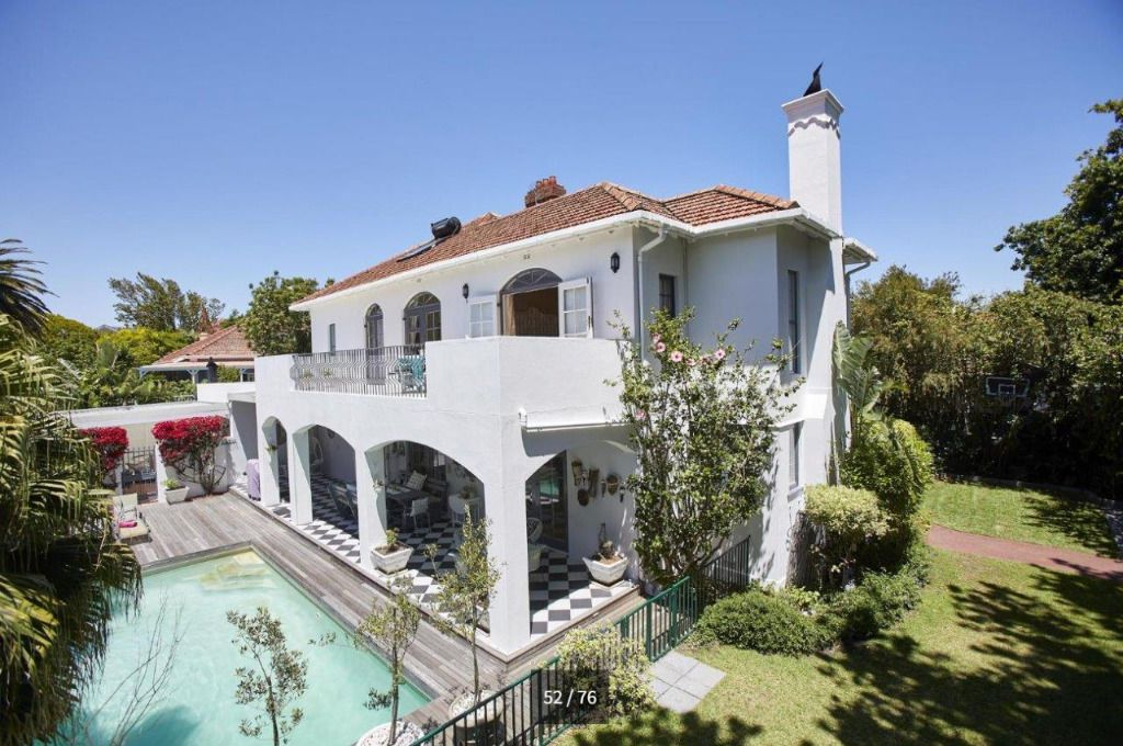 Sunny Side: Shoot My House Classic Gardens Location Rondebosch Cape Town