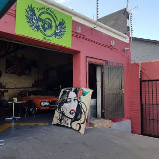 Three Feathers Diner: Shoot My House Bar Commercial Location Woodstock Cape Town