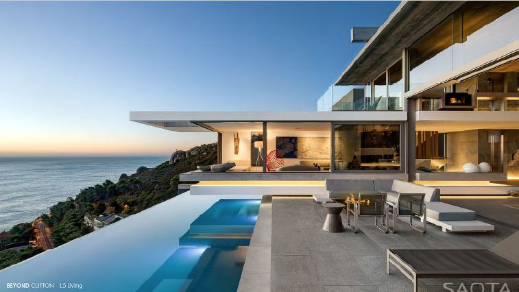 Beyond Clifton: Shoot My House Modern Location Clifton Cape Town