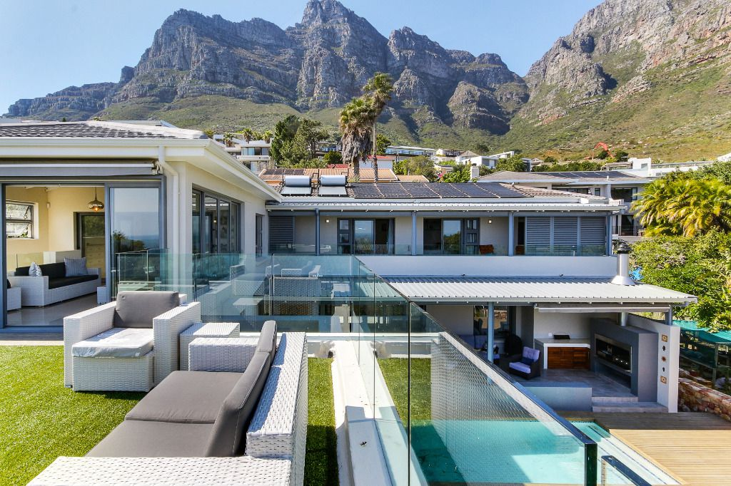 Dream Land: Shoot My House Contemporary Modern Villas Location Camps Bay Cape Town