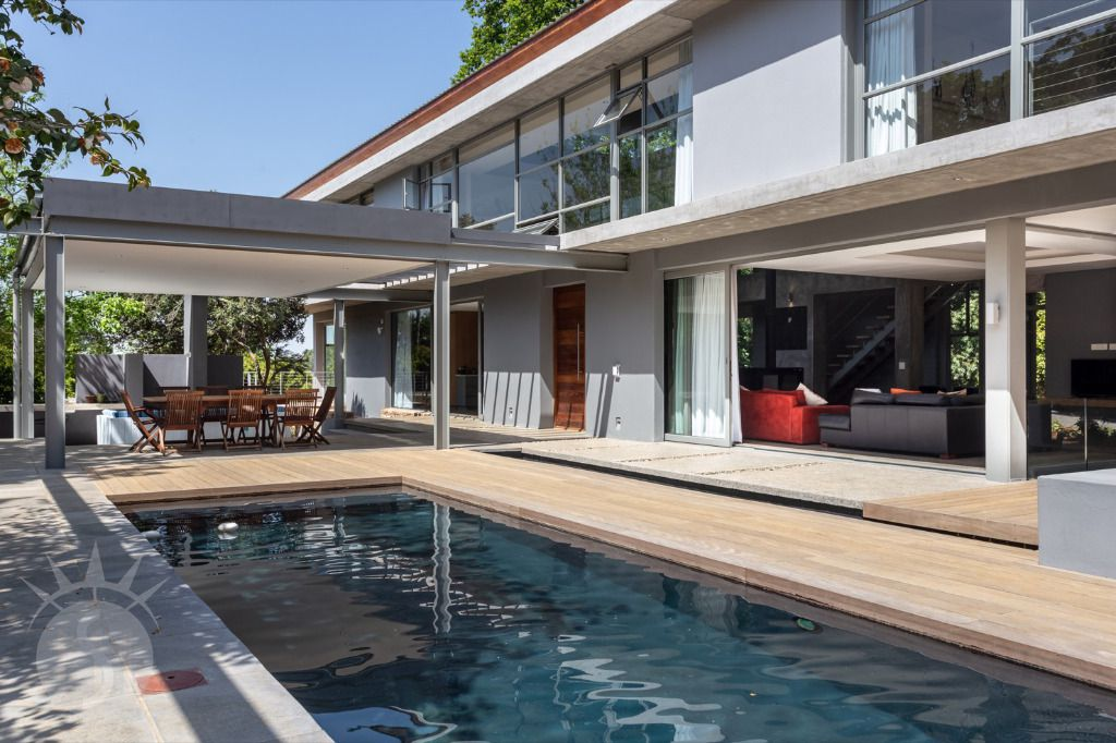 Steel Vines: Shoot My House Modern House Location Constantia Cape Town