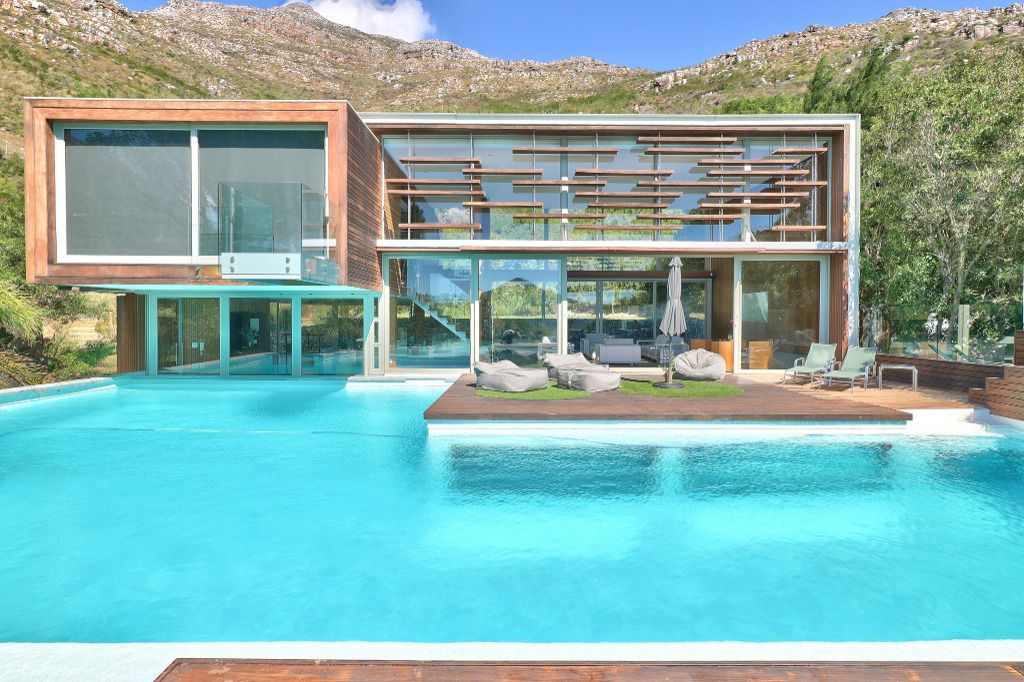 The Pavillion: Shoot My House Contemporary Modern Villas Location Hout Bay Cape Town