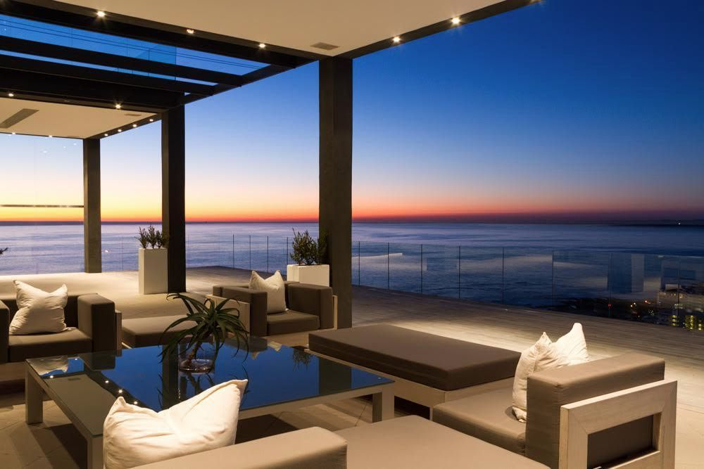 Midas Touch: Shoot My House Beach Contemporary Location Bantry Bay Cape Town