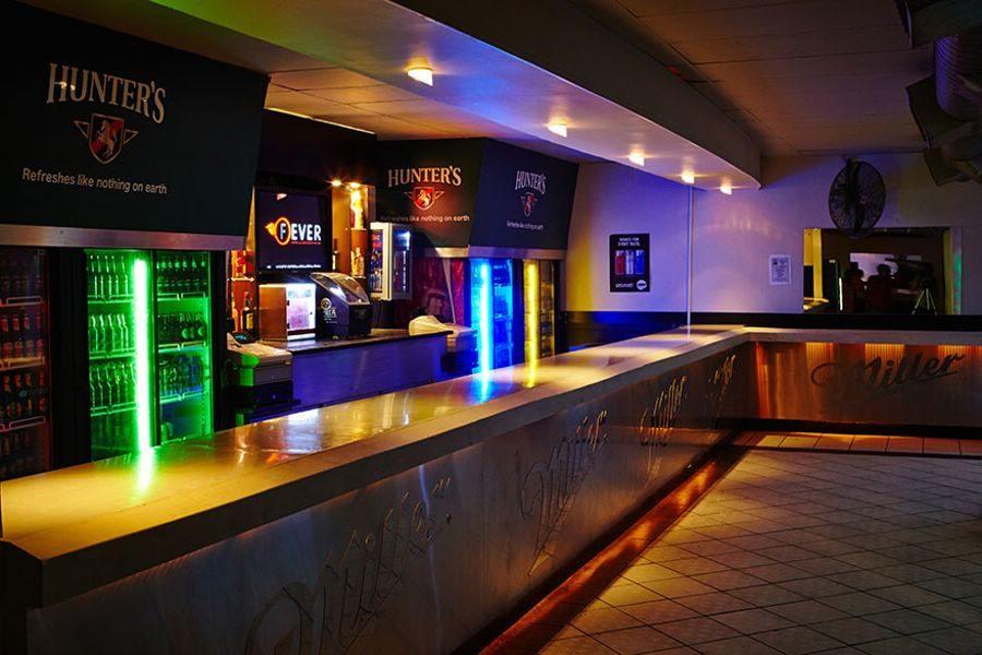Bar Area at Saturday Night Fever Nightclub in Lansdowne Cape Town