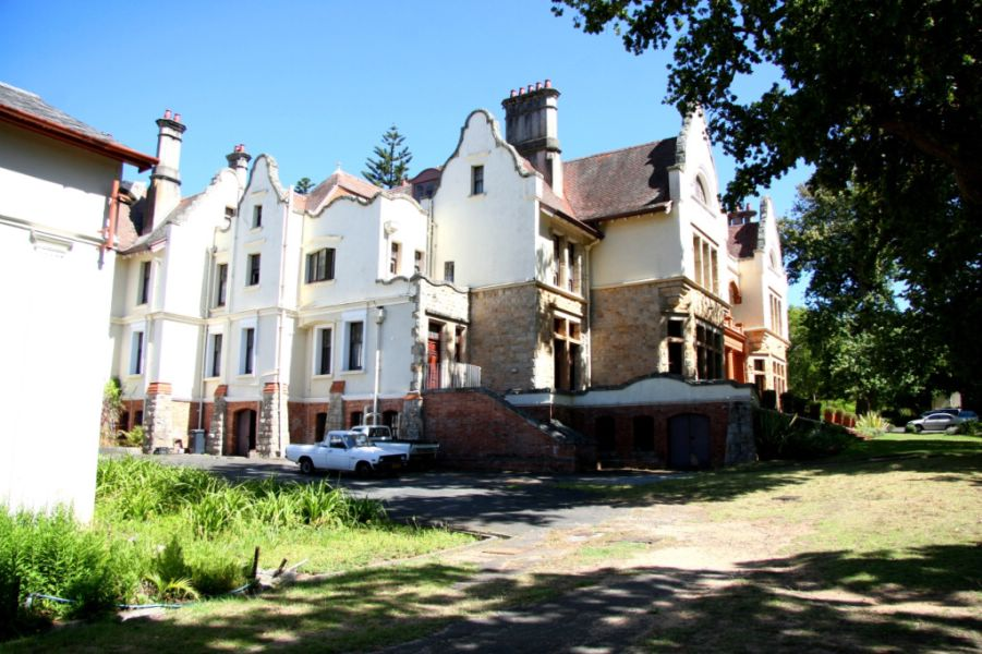 Heritage building at Schoenstatt Estate and Conference Centre in Constantia Cape Town