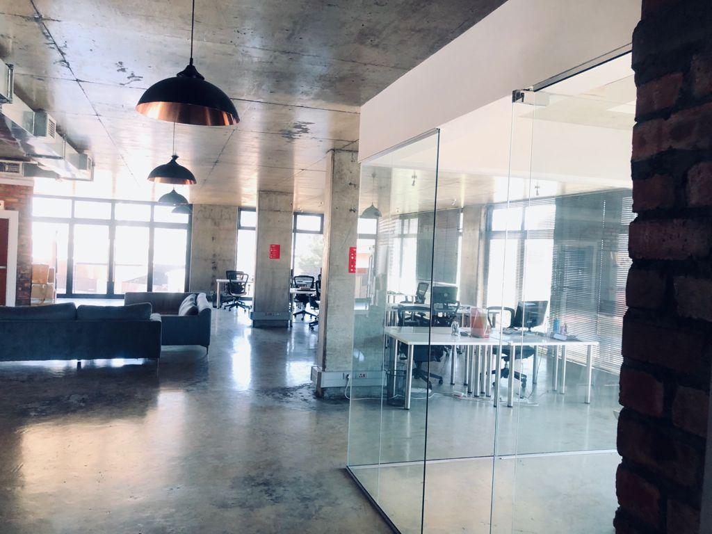Modern office shoot location